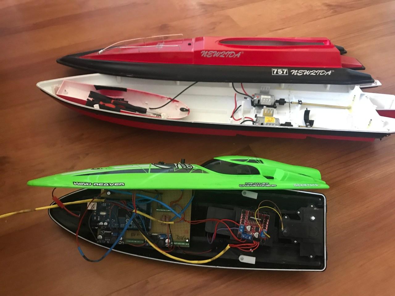medium resolution of rc boat part diagram