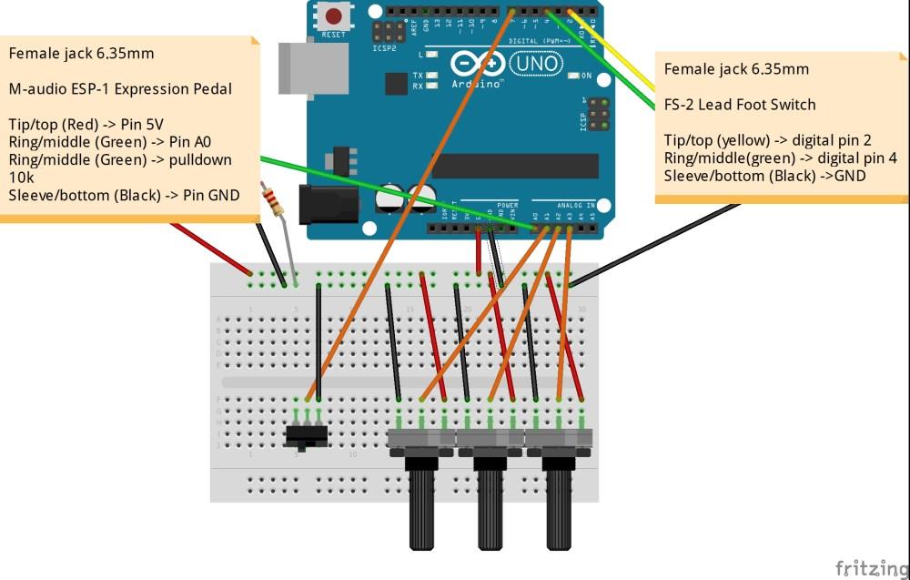 medium resolution of midi controller wiring diagram