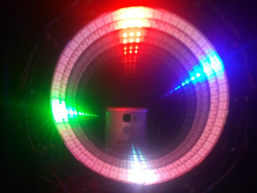arduino infinity mirror led