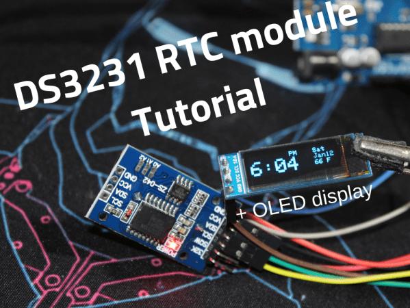Ds3231 Rtc Module Oled Tutorial Hackster Io