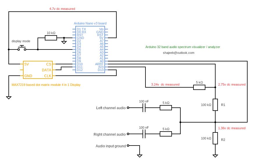 audio spectrum analyzer circuit diagram warn m8000 remote wiring 32 band visualizer hackster io arduino schematic fixed 1 jl7c9pr1y5