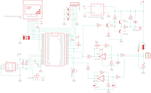 small resolution of soldering iron controller for hakko t12 tips on stm32 hackster io follow the schematics and solder you components accordingly as shown