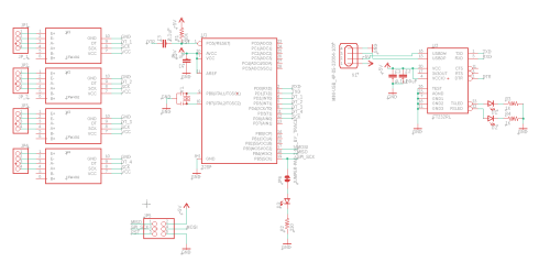 small resolution of follow this schematic to connect the atmega328p to the hx711 load cell amplifiers and the ft232rl usb to serial uart