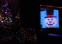 Christmas Lights! Neopixel Led Matrix Glass Block Wall ...