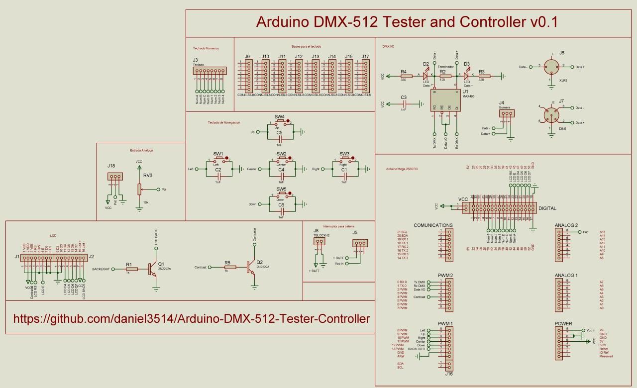 dmx512 wiring diagram [ 1280 x 780 Pixel ]
