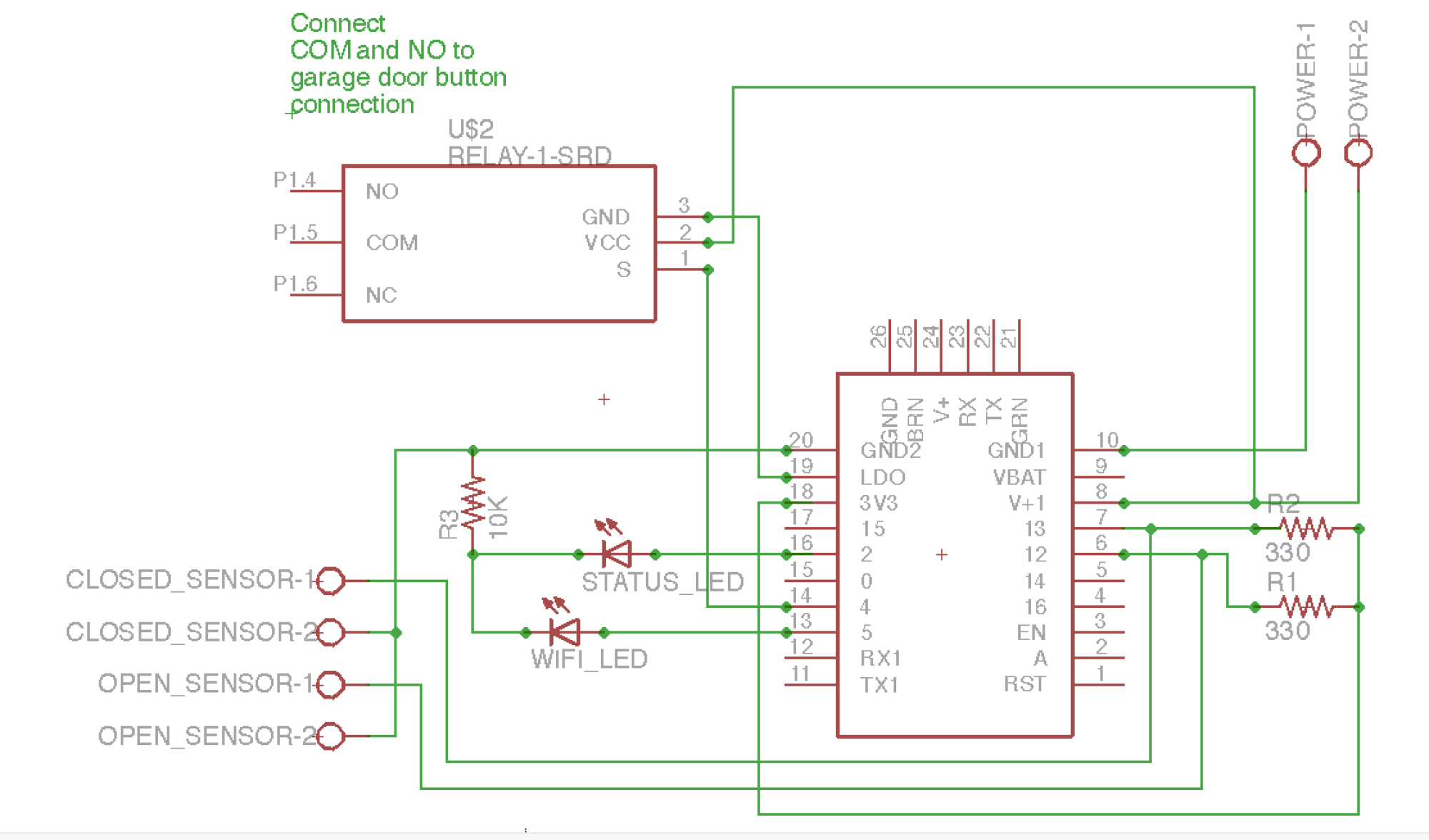 hight resolution of garage door opener huzzah schematic