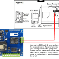 Electric Garage Door Opener Wiring Diagram 2004 Chevy Impala Starter Open Your From An Android Home Screen Widget!!!! - Hackster.io