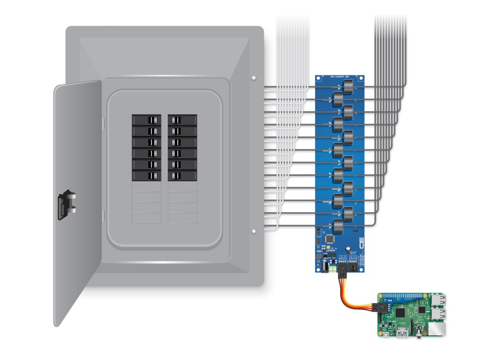 medium resolution of use the included cable to connect the current monitor board to the pi then connect your ethernet and power to the pi and a regulated 12vdc power supply