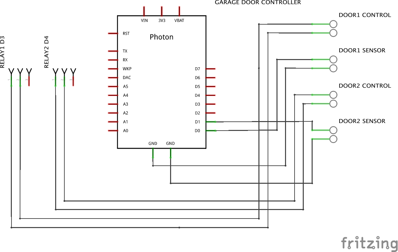 hight resolution of code garage door operation