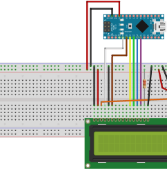arduino and visuino directly connected 2 x 16 lcd display hackster io rh hackster io wiring arduino nano wiring arduino uno shield to external driver [ 1755 x 1341 Pixel ]