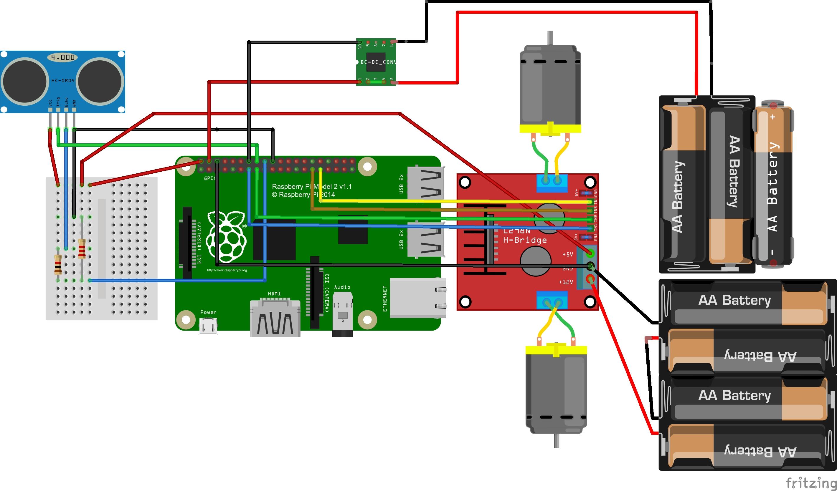 l298 h bridge circuit diagram 96 civic headlight wiring rover hackster io