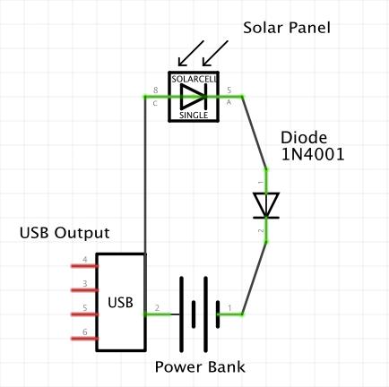Usb Power Bank Schematic