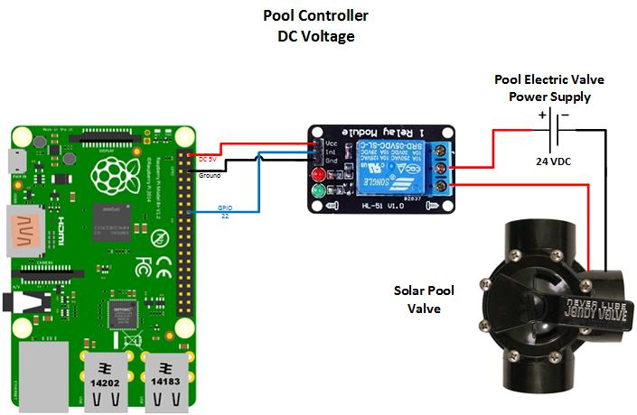 wiring diagram for latching relay blank skeleton to label pool controller - hackster.io