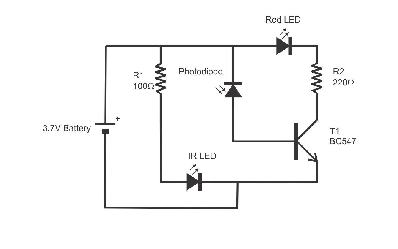 Proximity Switch Using One Transistor with UTSOURCE