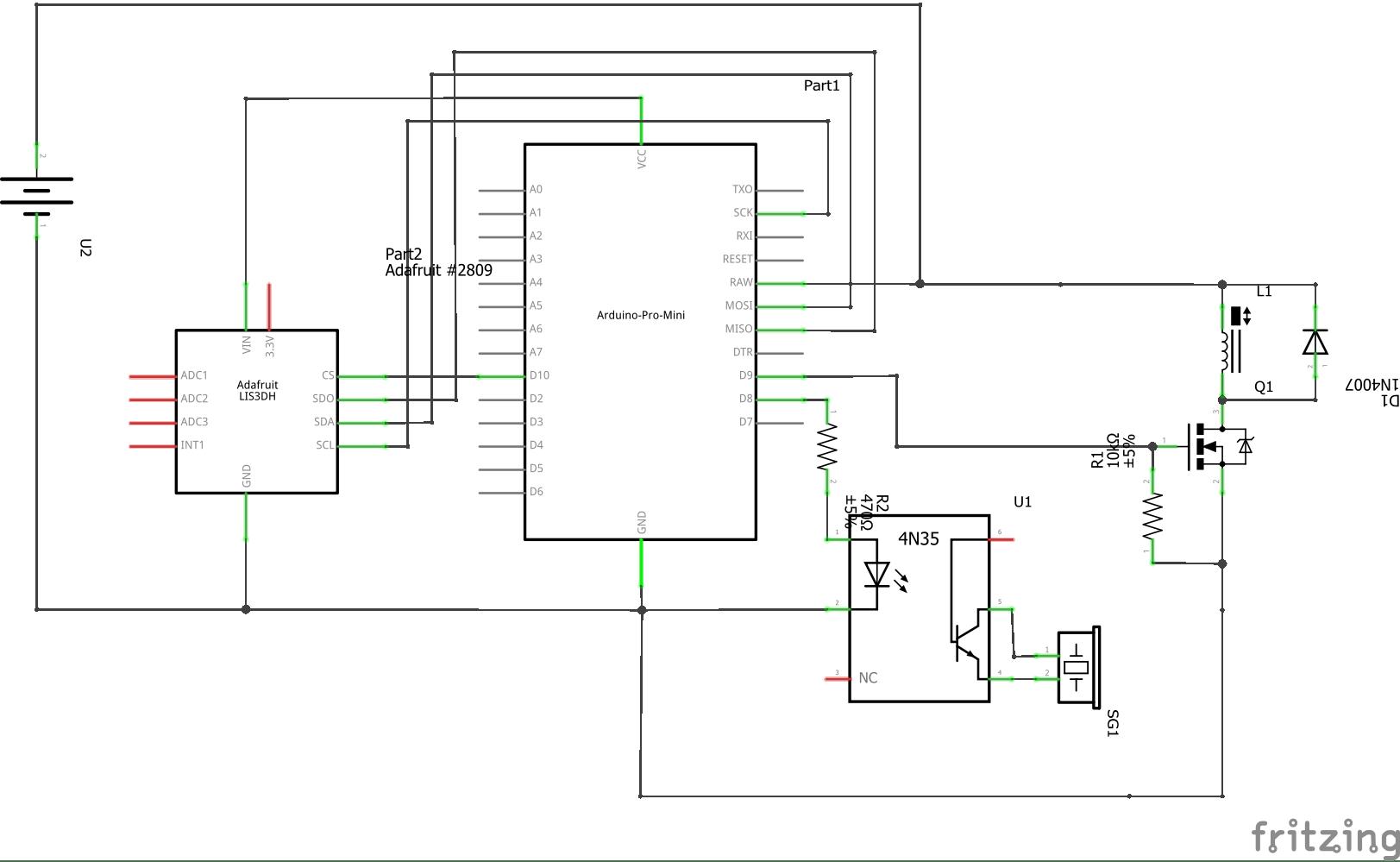 Arduino Pro Mini Schematics