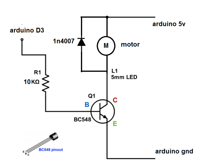 how to drive dc motor with arduino  arduino project hub