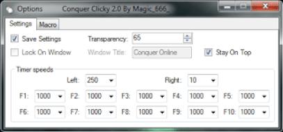 Auto Click for Conquer Online 2
