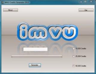 IMVU Credit Generator