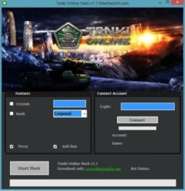Tanki Online Hack v1.1