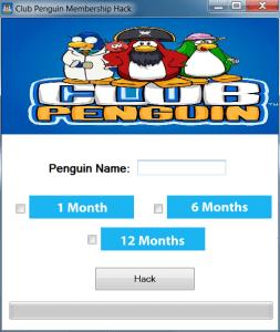 Club Penguin Membership Hack