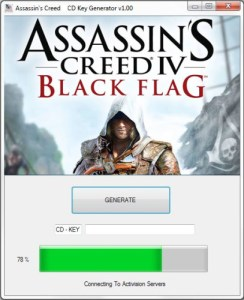 Assassin's Creed IV : Black Flag Cd key