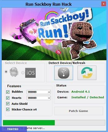 Run Sackboy! Run! Hack