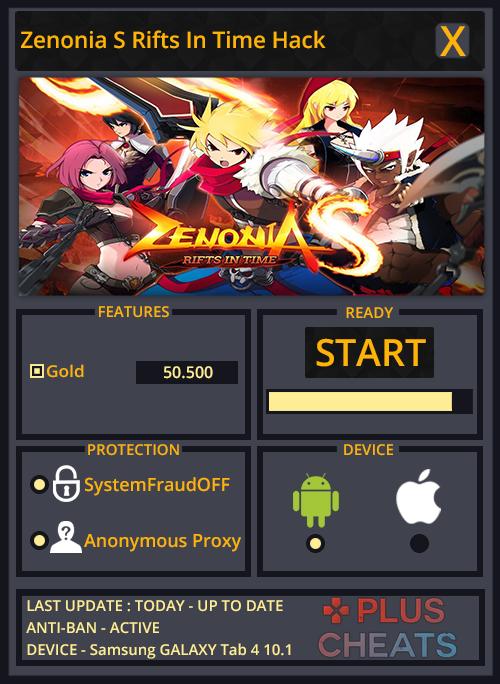 zenonia s rifts in time hack