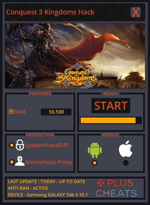 Conquest 3 Kingdoms hack
