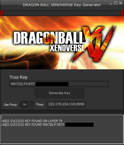 Dragon Ball Xenoverse Hack Tool