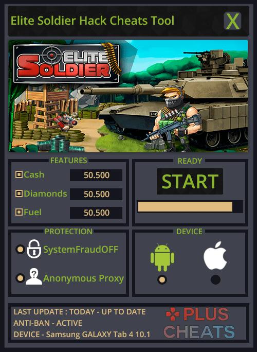 Elite Soldier hack