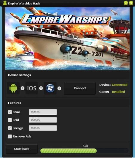 Empire Warships Hack Tool