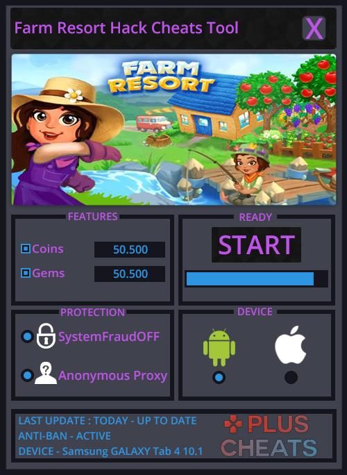 Farm Resort hack