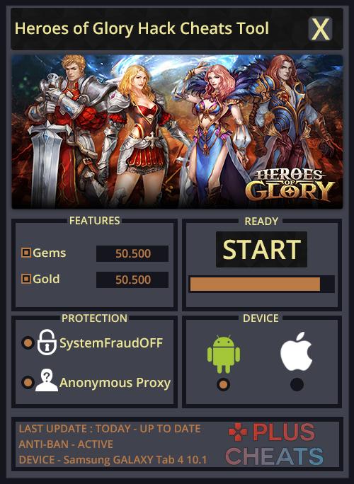 Heroes of Glory hack