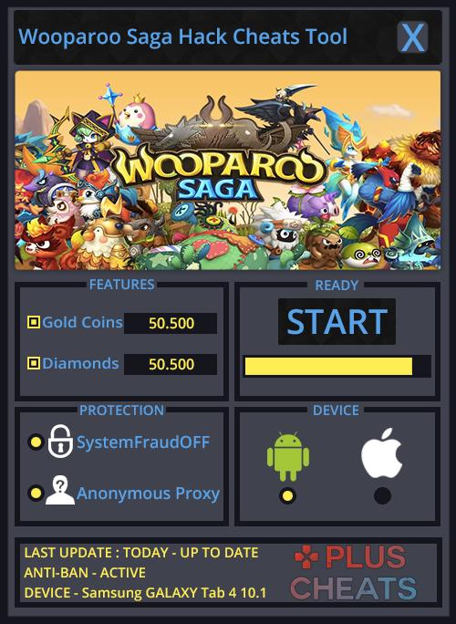 Wooparoo Saga hack