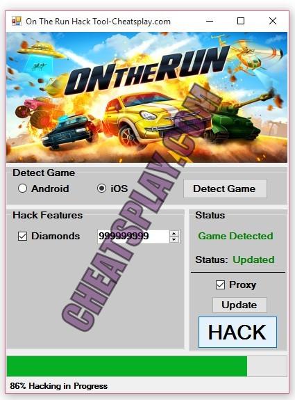 On The Run Hack Tool