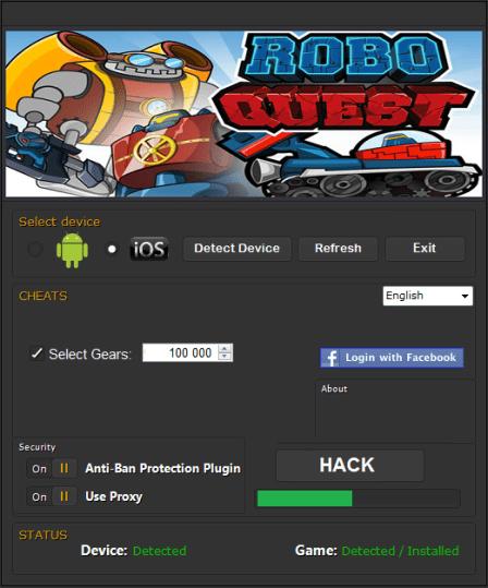 Robo Quest Hack Tool