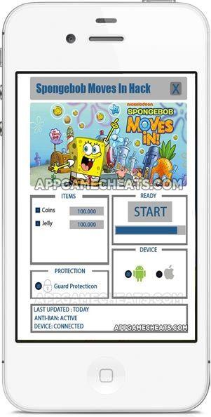 SpongeBob Moves In Hack
