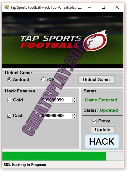 Tap Sports Football Hack Tool