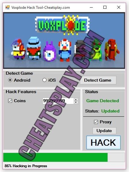 Voxplode Hack Tool