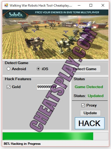 Walking War Robots Hack Tool