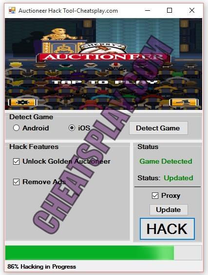Auctioneer Hack Tool