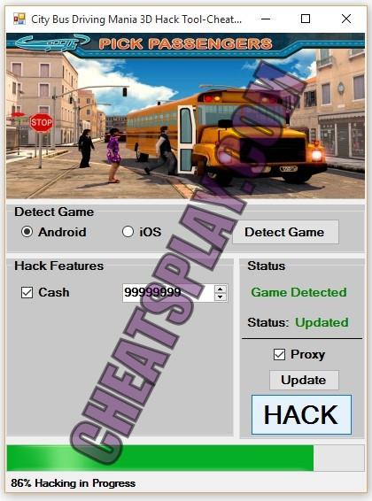 City Bus Driving Mania 3D Hack Tool