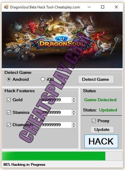 DragonSoul Beta Hack Tool