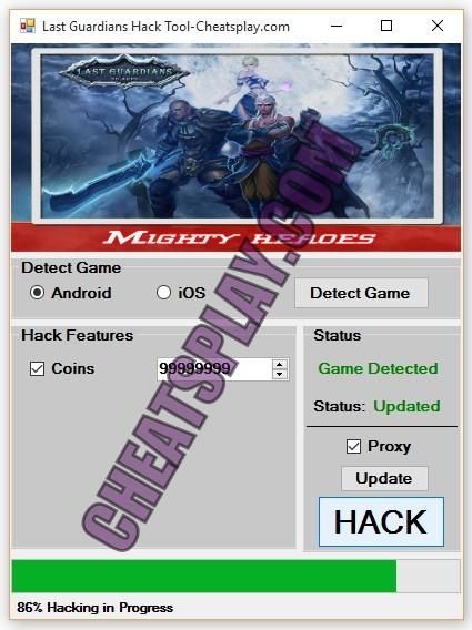 Last Guardians Hack Tool