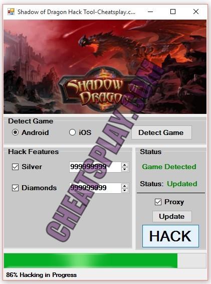 Shadow of Dragon Hack Tool
