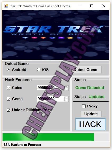 Star Trek Wrath of Gems Hack Tool