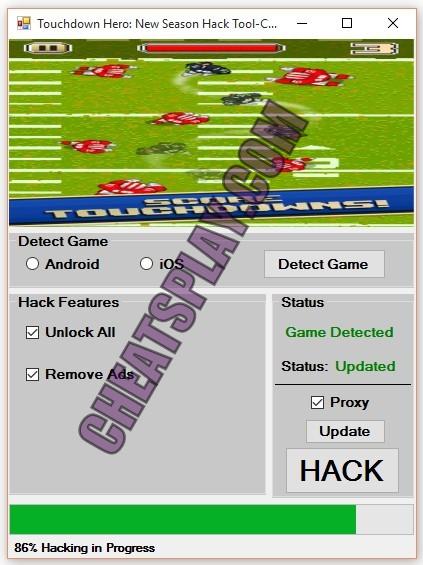 Touchdown Hero New Season Hack Tool