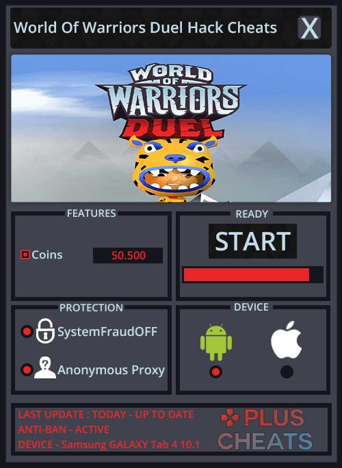 World Of Warriors Duel hack - Copy