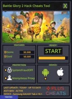 Battle Glory 2 hack cheats