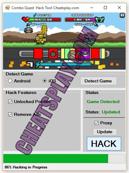Combo Quest Hack Tool